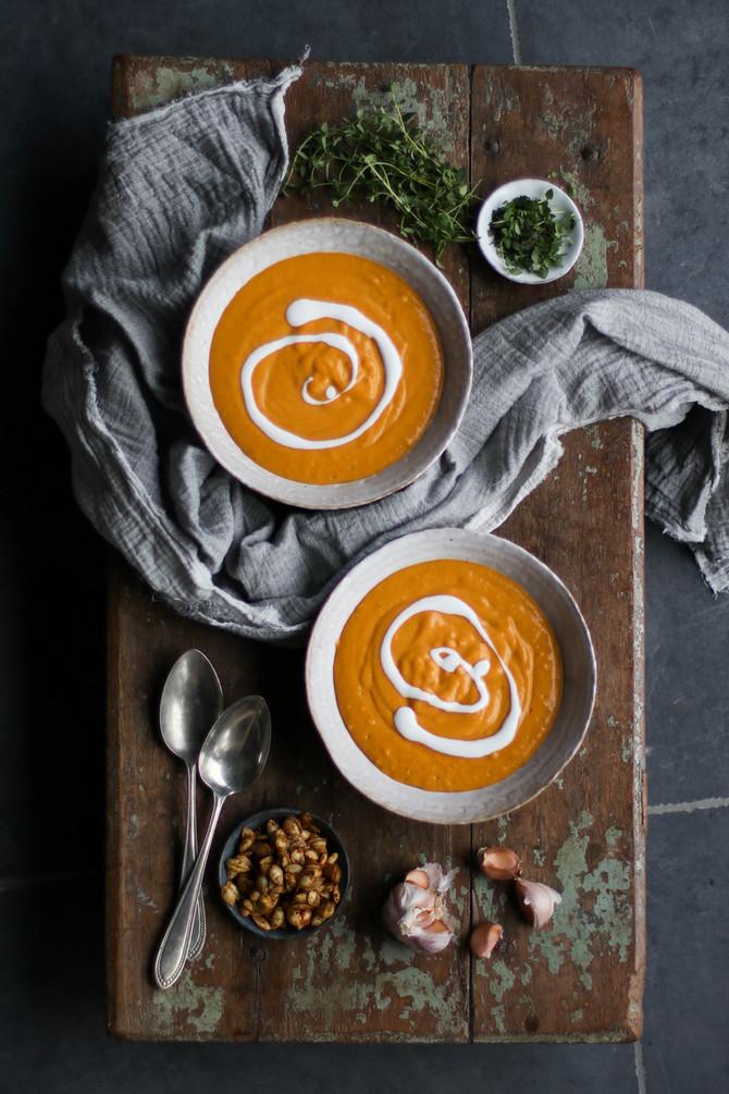 Roasted Vegetable Harvest Soup