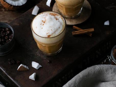 Cinnamon Coconut Cream Latte
