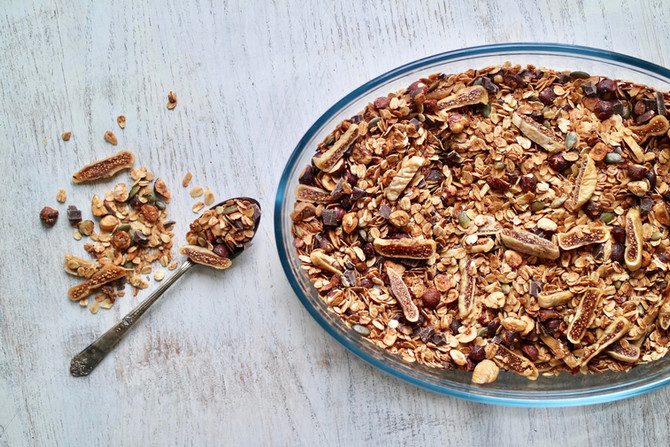 GRANOLA » a collection of all our recipes