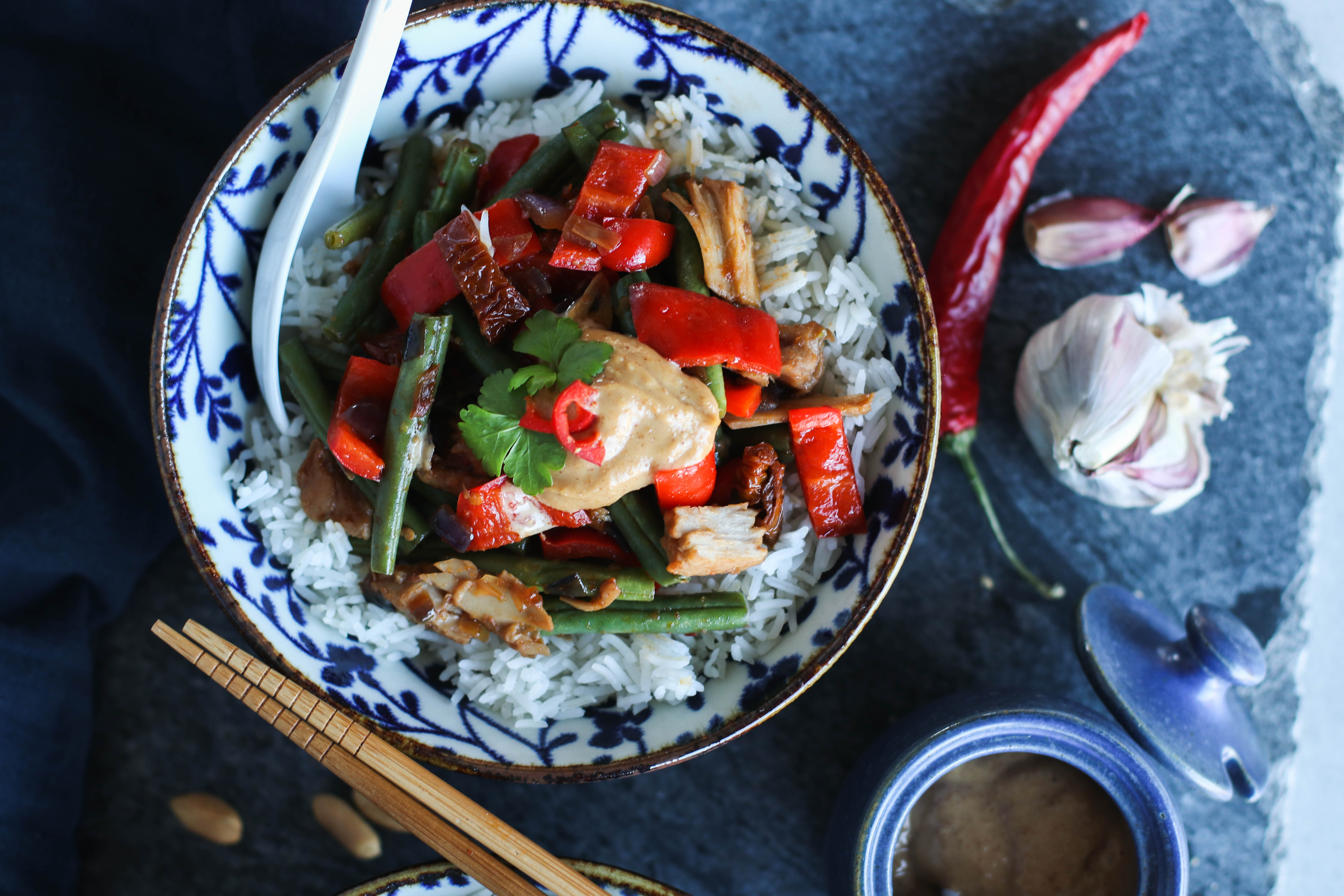 Vegan Gado Gado with Sun-dried Tomatoes | Pick Up Limes | Nourish the Cells & the Soul