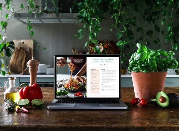 PUL E-cookbook Computer View