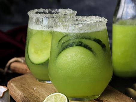Refreshing Melon Cucumber Soda