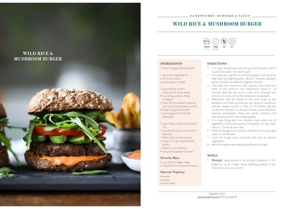 PUL E-cookbook Burger Recipe