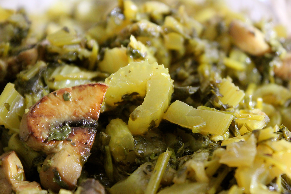An epic green side dish that pairs wonderfully with rice.