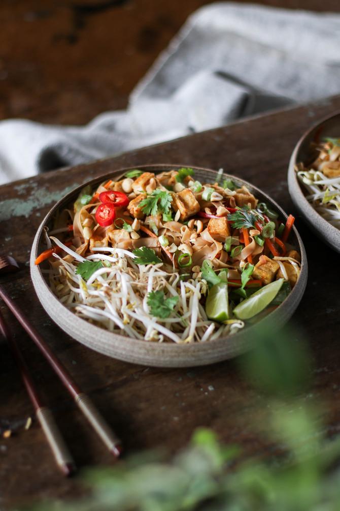 Speedy Vegan Pad Thai