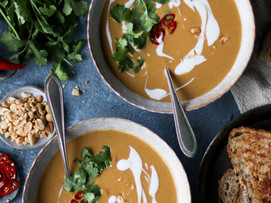 Peanut Butter Curry Soup