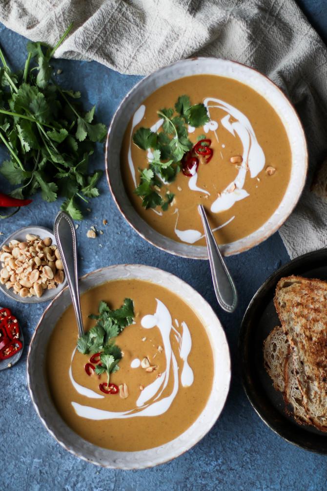 Peanut Butter Curry Soup