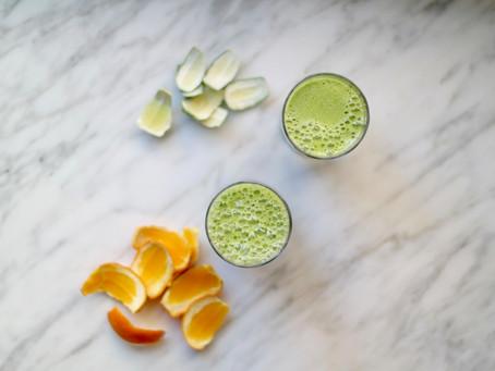 Glowing Green Juice
