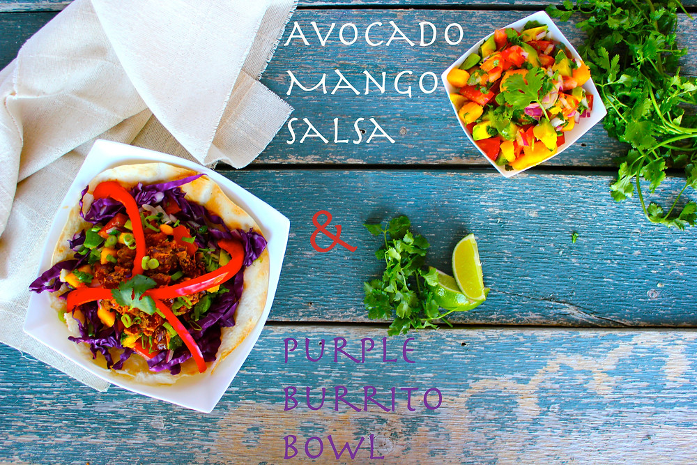 Roll it up into a hearty burrito, or serve it open-faced to view the magnificent colours... yumm-o!