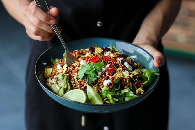 Bold & Filling Lentil Taco Salad