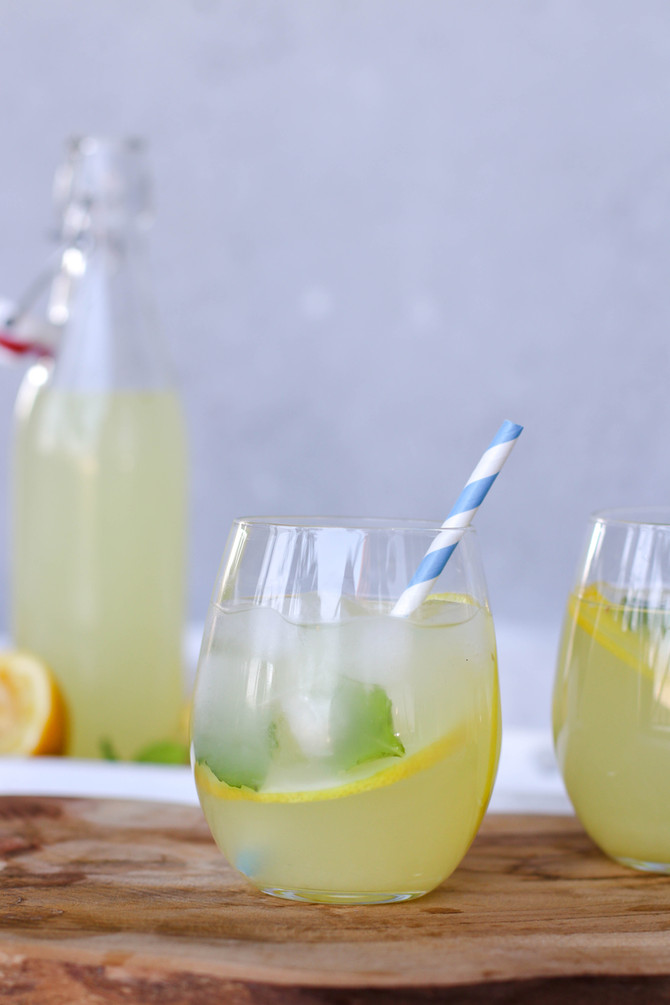 Refreshing Ginger Mint Lemonade
