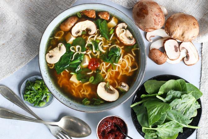 Glorified Miso Soup (Ramen To-Go)