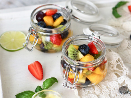 Sweet Lime Summer Fruit Salad