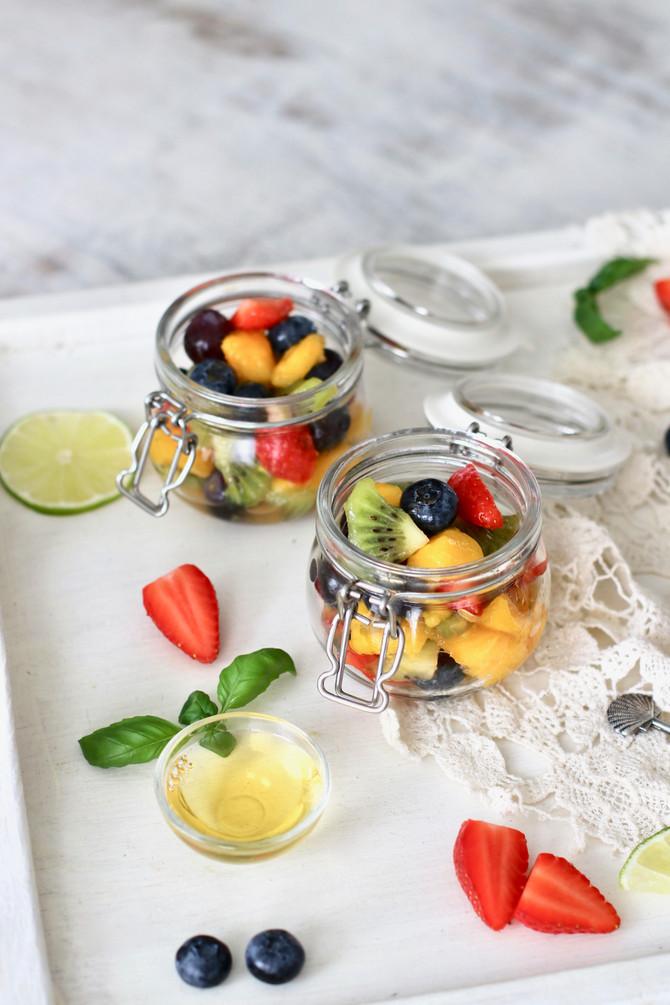 Sweet Lime Summer Fruit Salad
