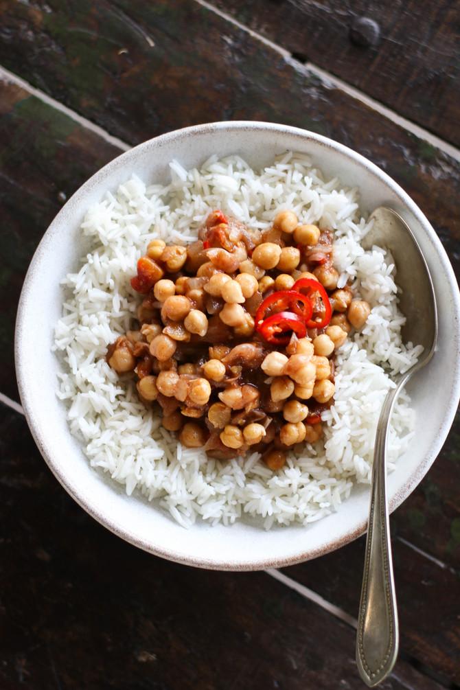 Tomato Chickpea Stew