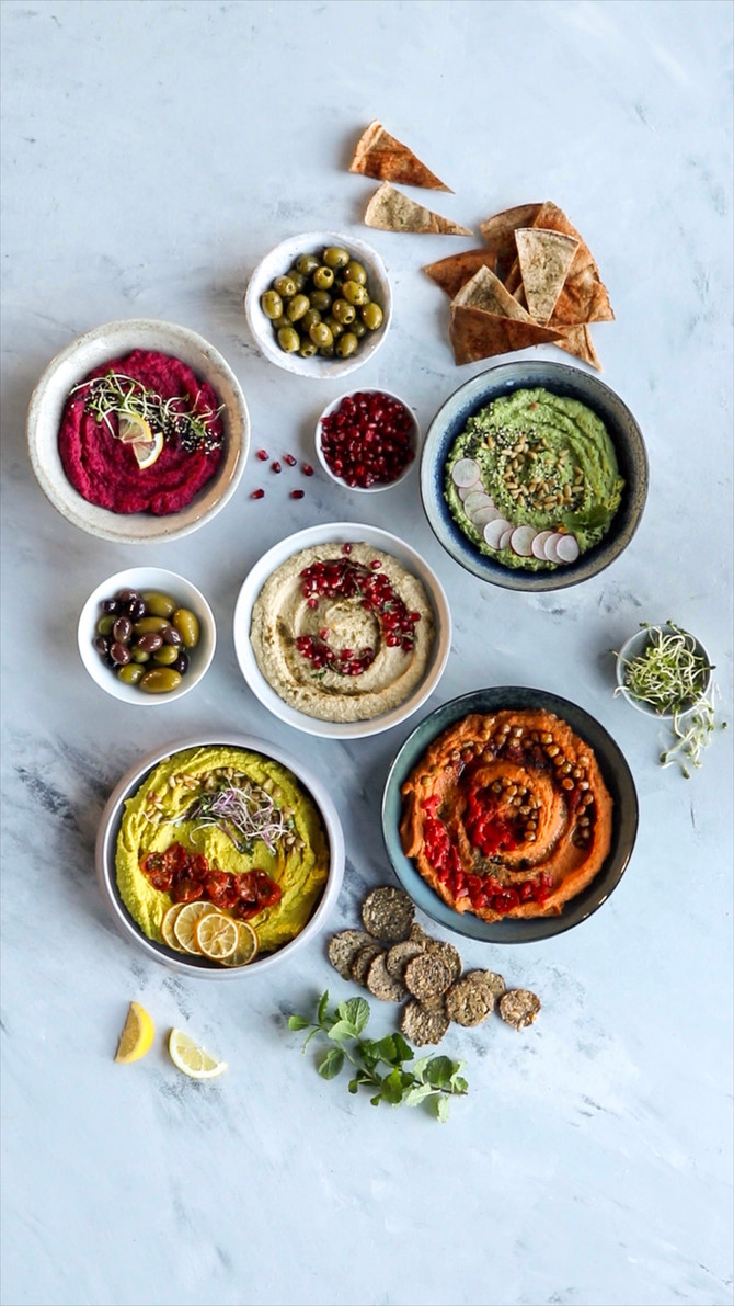 HUMMUS » a collection of all our recipes to date