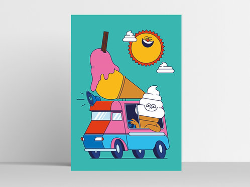 Ice Cream Van Man
