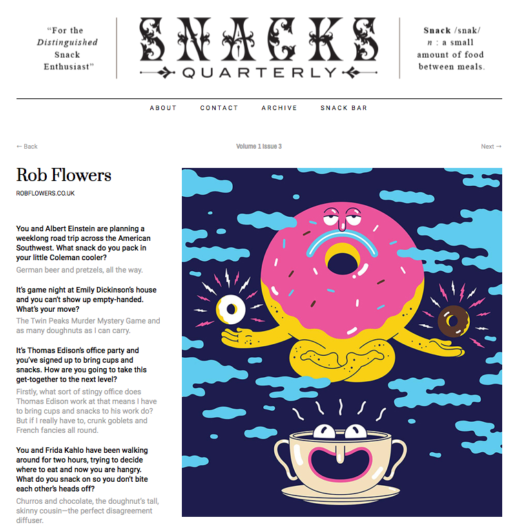 SNACKS QUARTERLY