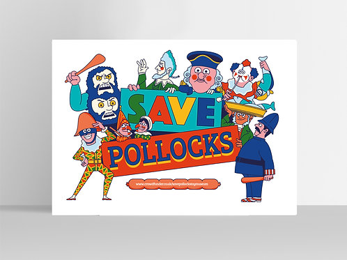 Save Pollocks Print