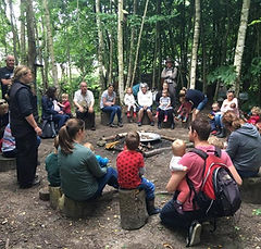 Willow's Forest School, Surrey - Building connections to nature in an outdoor environment.