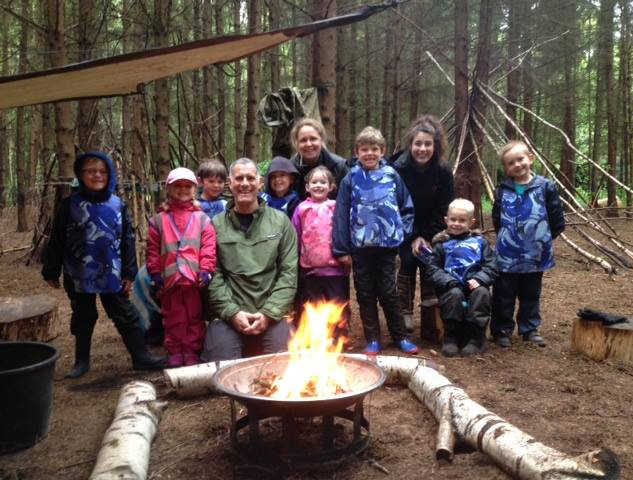 Free your child's imagination and allow them to connect with nature at Willow's Forest School, Surrey