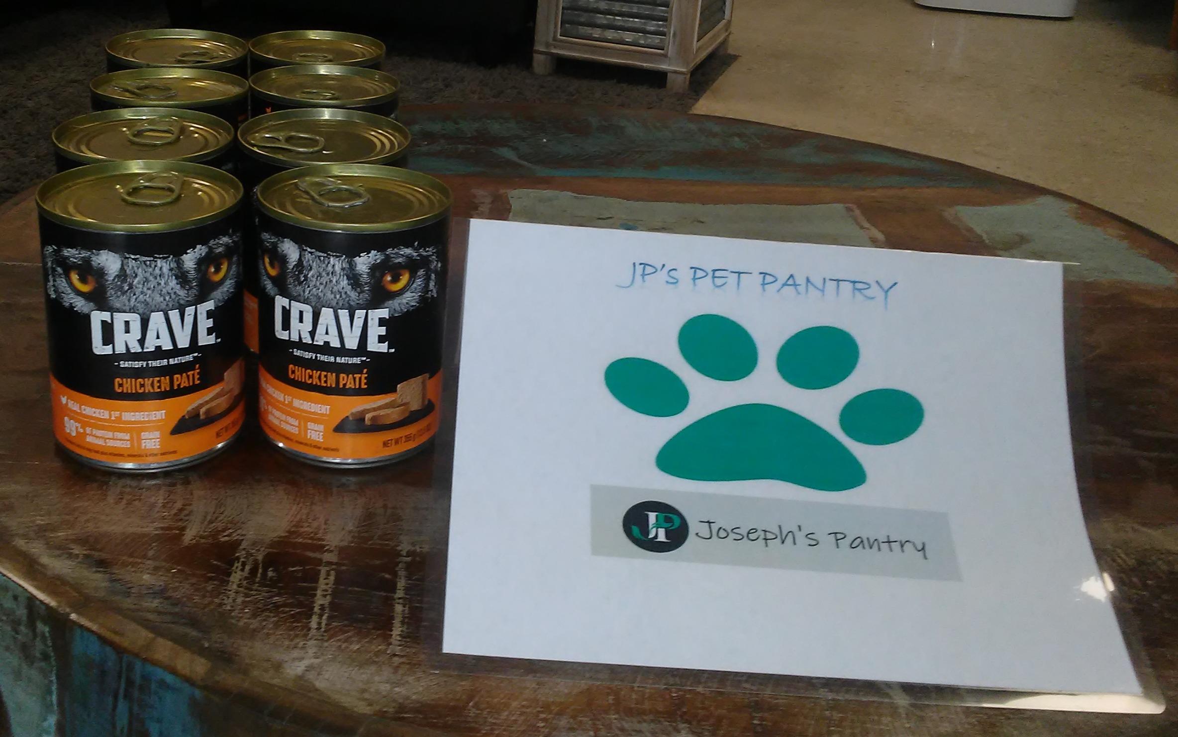 We Even Get Pet Food!