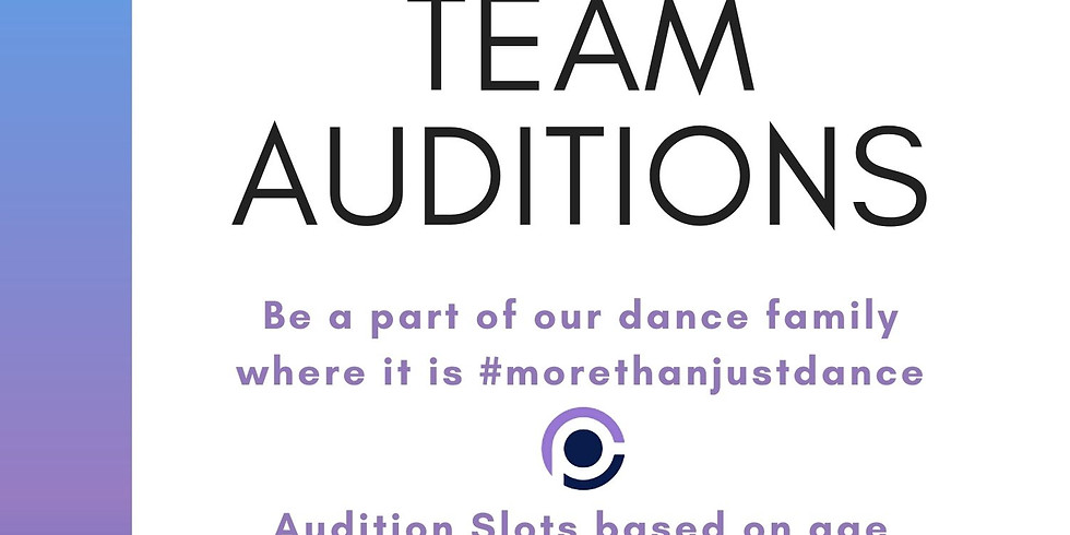 2021/2022 Team Auditions