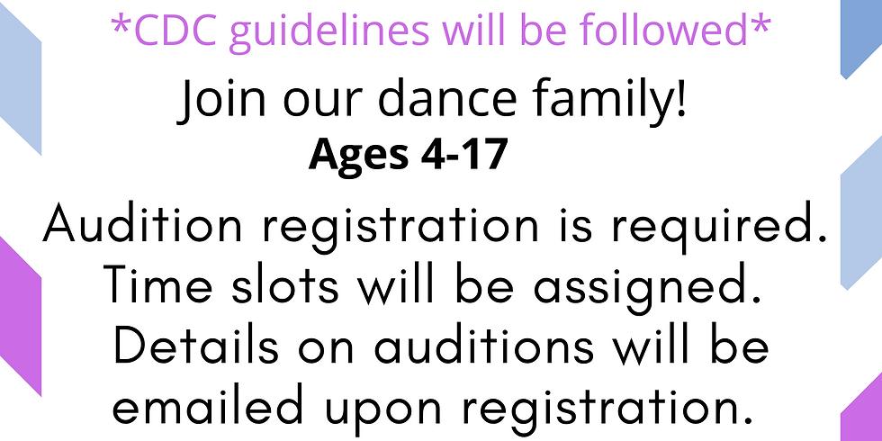 2020-2021 Audition Registration