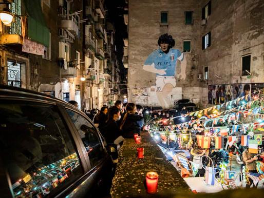 Maradona : l'hommage du monde entier à une légende