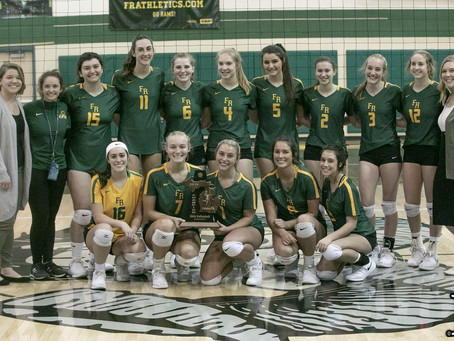 Photos from Flat Rock vs. New Boston Huron volleyball district final