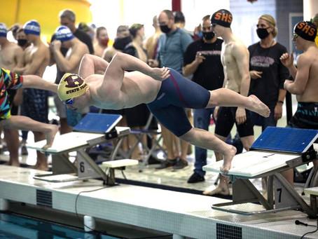 D3 MHSAA Boys Swim finals