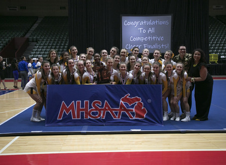 Division 1 MHSAA Competitive Cheer state Final