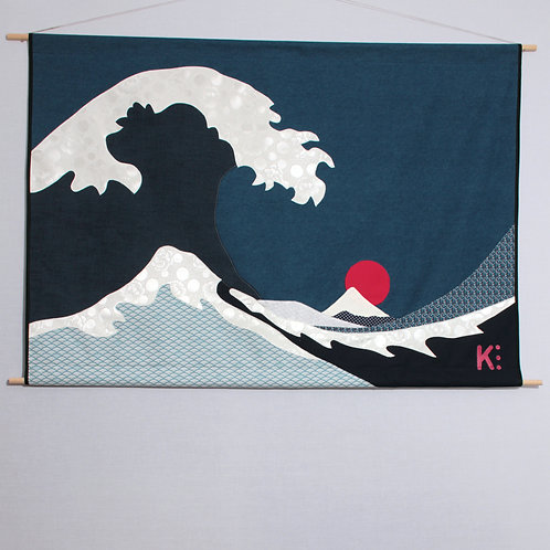 Kakemono vague japonaise