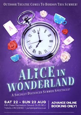 Alice in Wonderland | Pumpkin Pantos