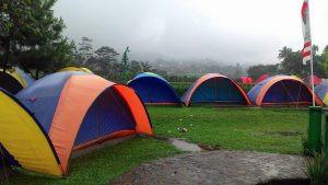 tenda camping di Citra Alam Riverside