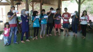 acara bersama karyawan bakso jawir