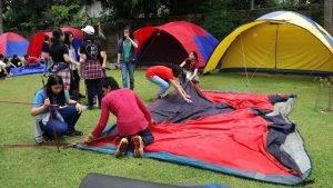 fasilitas tenda camping citra alam