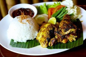 Menu Citra Alam Riverside-Ayam Bakar Puncak