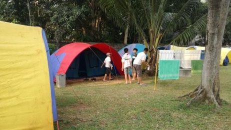 camping liburan di citra alam seaside
