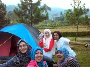 camping komunitas bloger Citra Alam Riverside