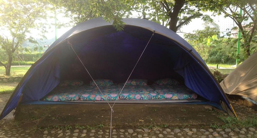 tenda dome Citra Alam riverside