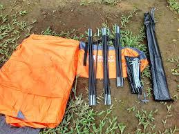 peralatan tenda