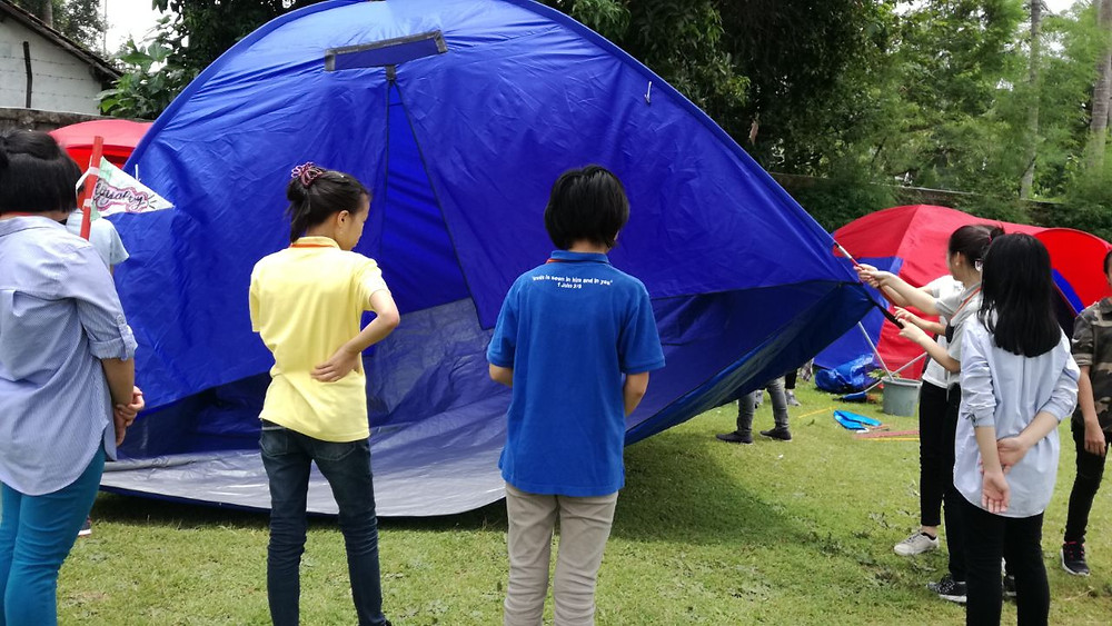 camping di citra alam seaside