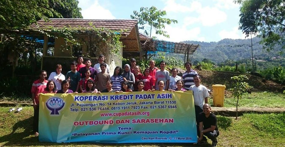 tema outbound karyawan koperasi