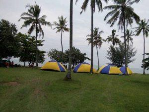 Citra Alam Seaside- Camping Pinggir Pantai