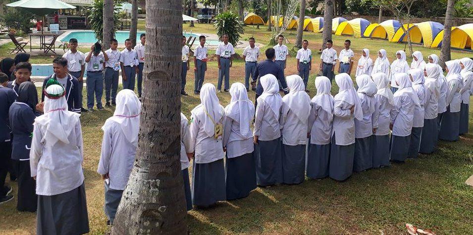 apel camping LDKS siswa SMA