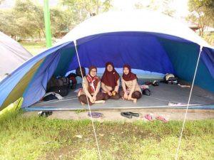 kegiatan camping di citra alam riverside