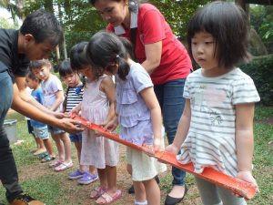 contoh games anak latih kerjasama