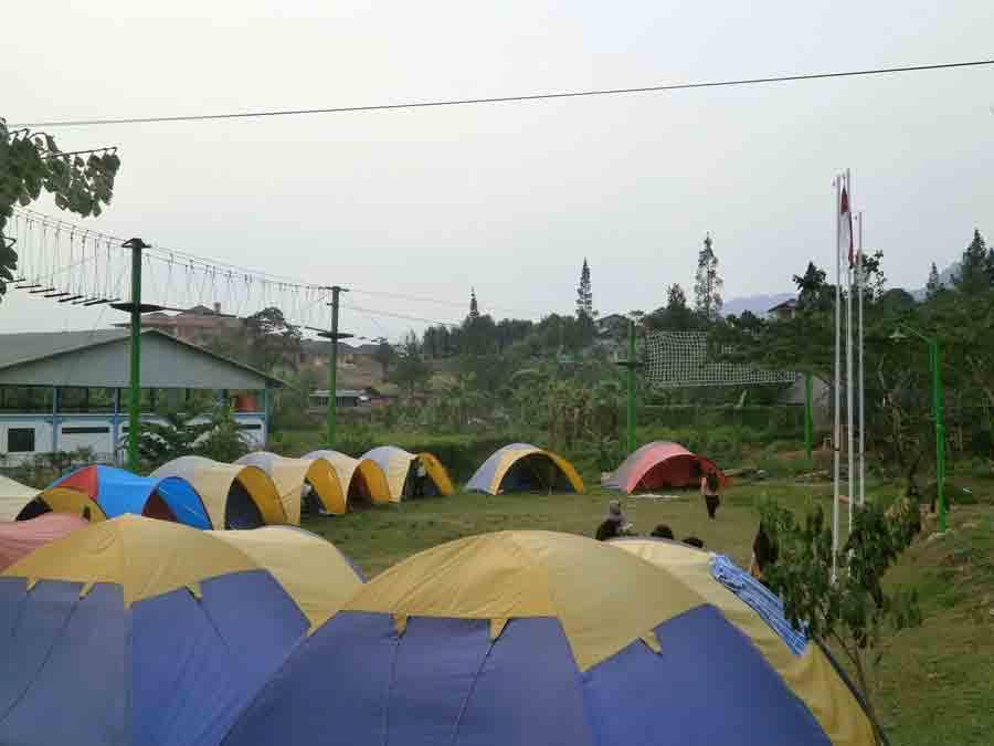 lokasi camping di citra alam riverside