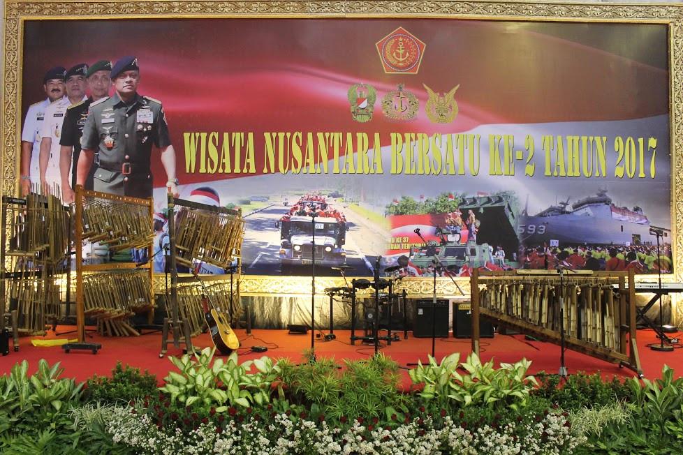 angklung kebangsaan di mabes TNI Cilangkap